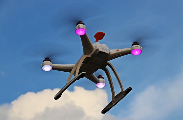 crashing a drone
