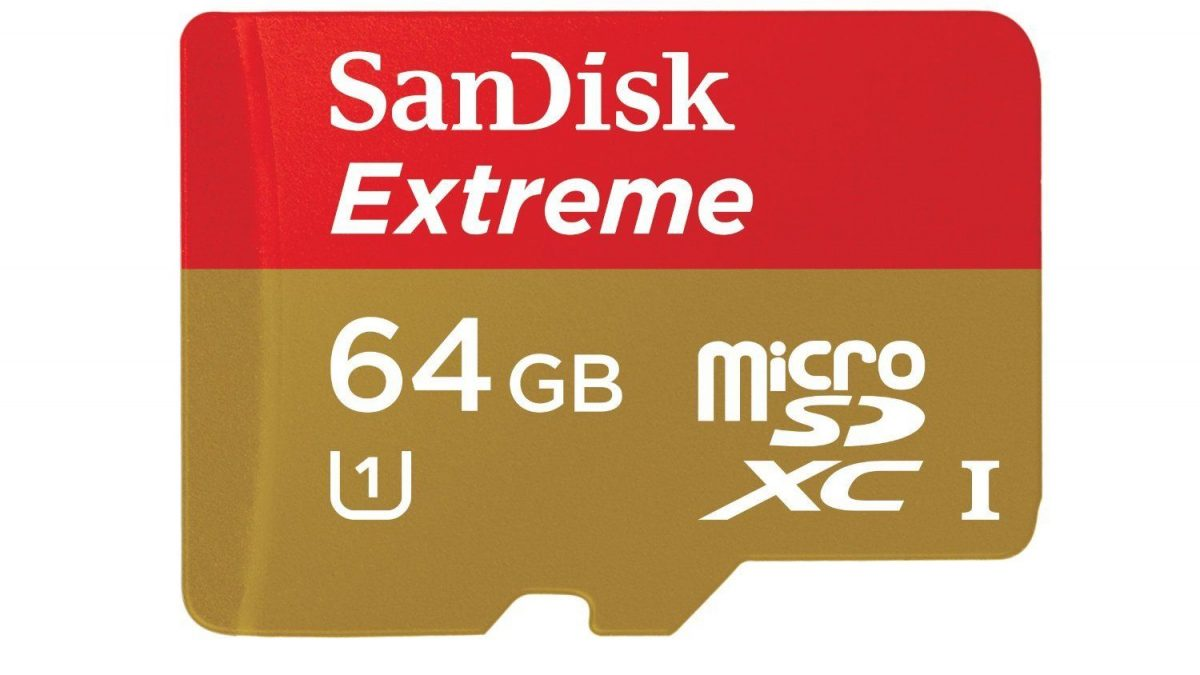 Sandisk Extreme Micro SD Memory Card